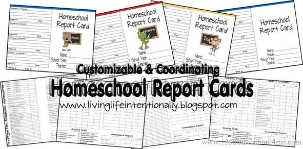 homeschooling templates