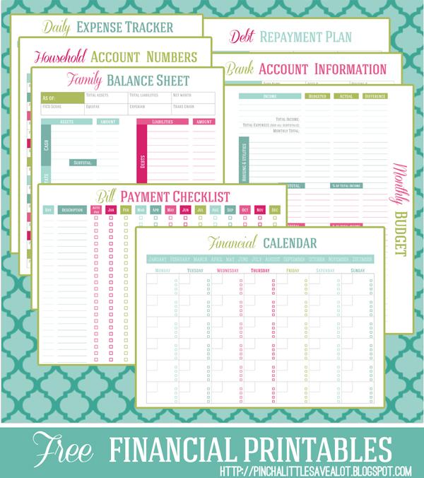 Free Financial Planner Money Management Essentials Free - free printable budget planner