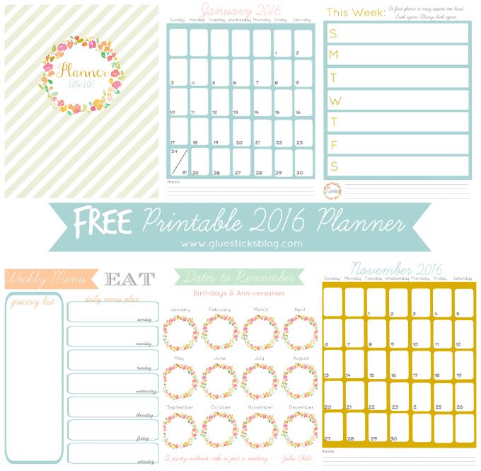 Printable Yearly Mini Calendar Free Calendars And Calendar Templates Printable Calendars The Mega List Of Free Printable Calendars And Planners For