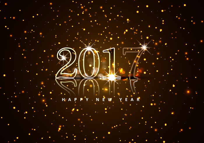 Download Free High quality 2017 Happy New Year Png Transparent