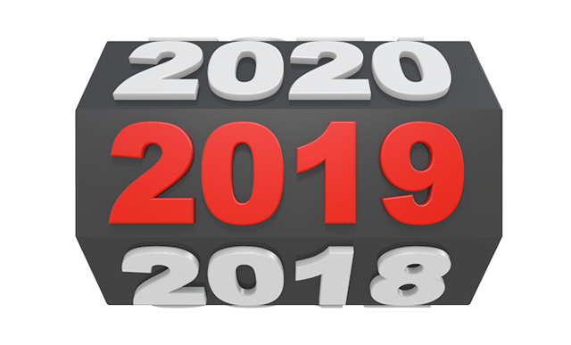 2019 Happy New Year Transparent PNG Pictures - Free Icons and PNG