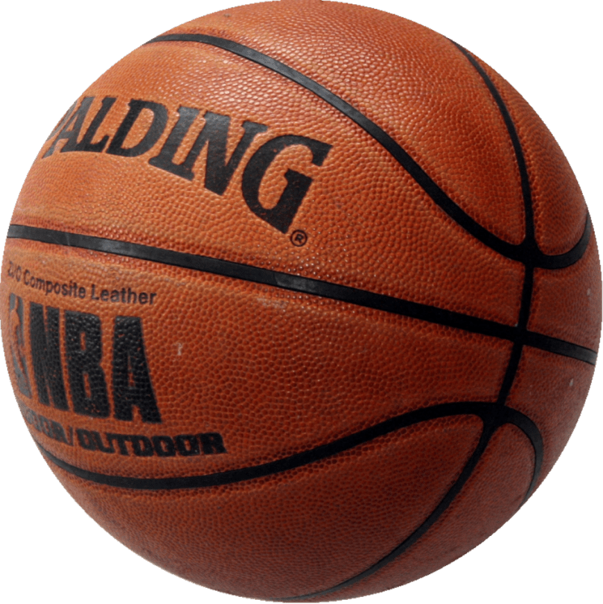 basketball with transparent background