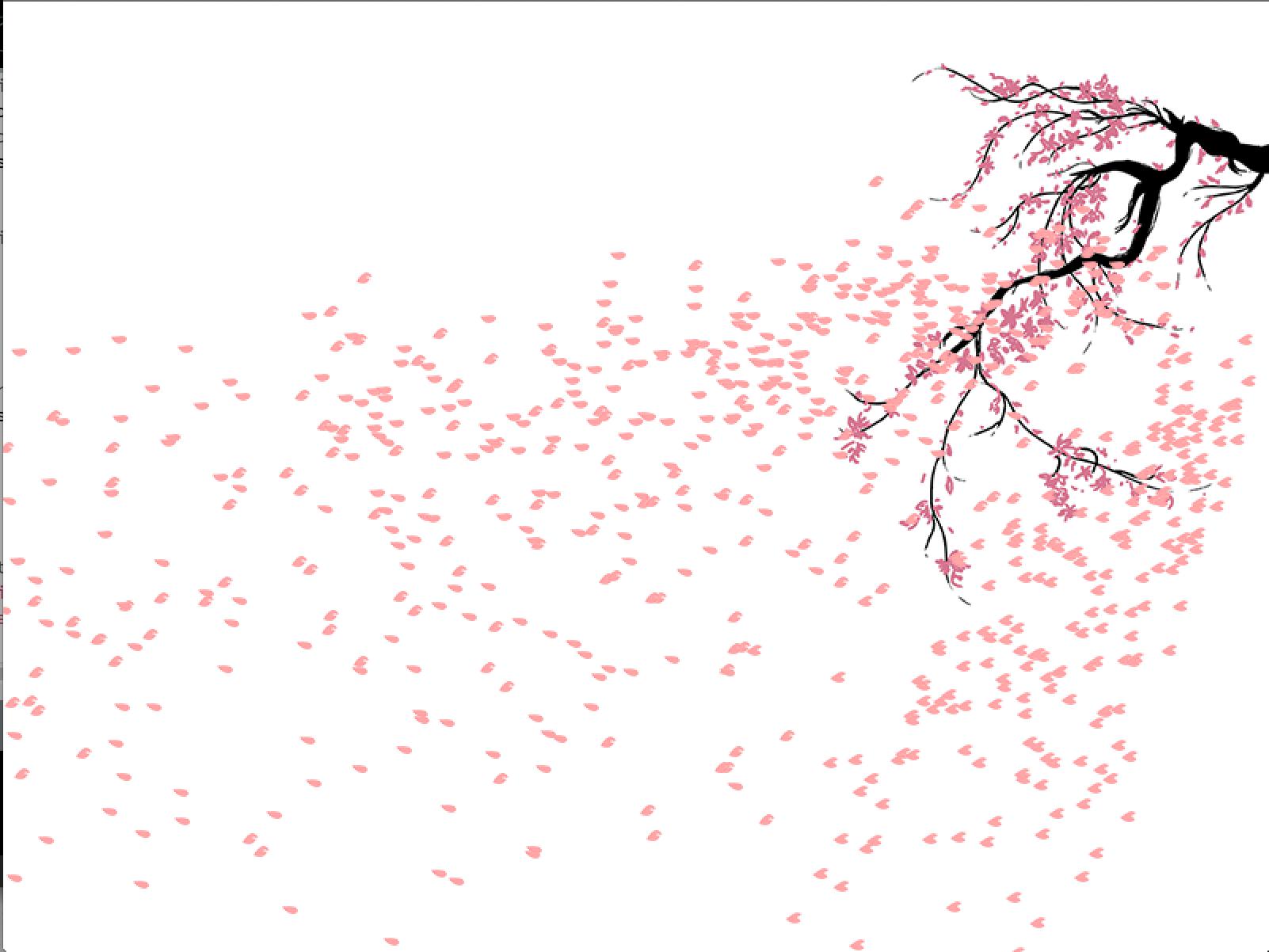 Falling Water House Wallpaper Blossom Petals Png Sakura 34546 Free Icons And Png