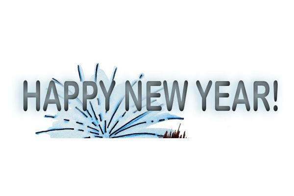 Happy New Year Banner Transparent PNG Pictures - Free Icons and PNG
