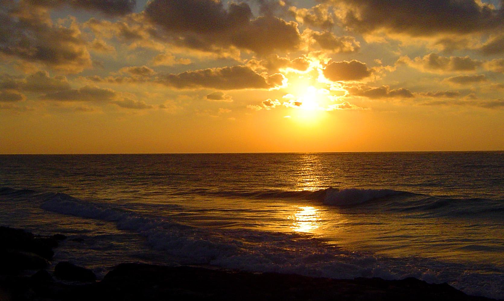 Sunrise 3d Wallpaper Free Stock Photo 1791 Caribbean Sunset Freeimageslive