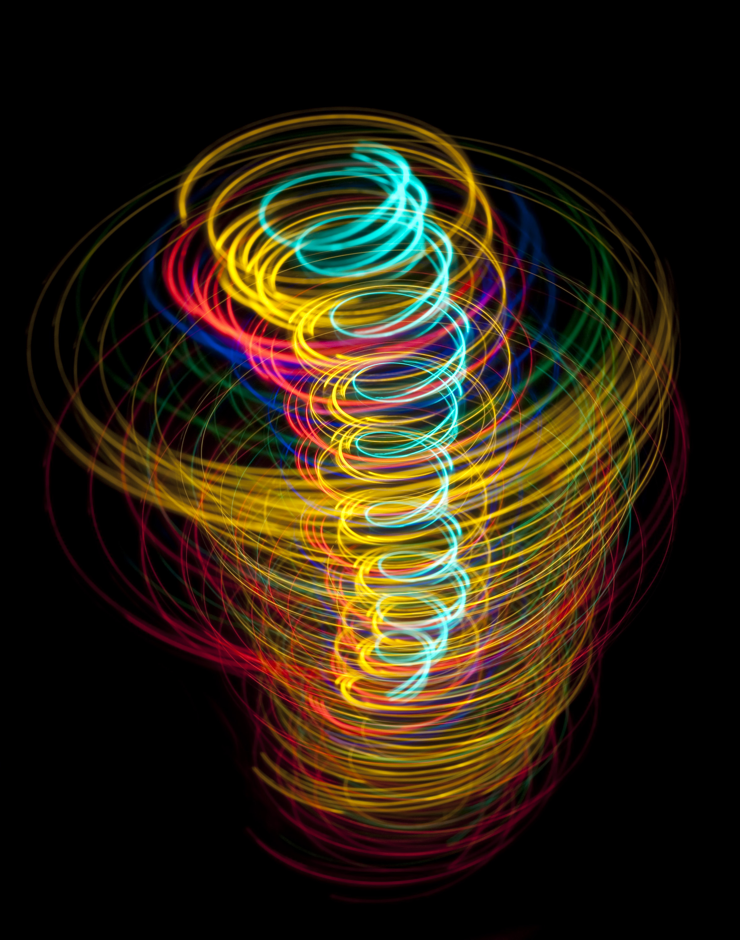 New 3d Abstract Wallpapers Free Stock Photo 3569 Light Tornado Freeimageslive