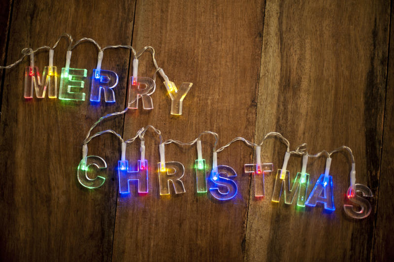 Still Life 3d Wallpaper Free Stock Photo 11706 Merry Christmas Lights Freeimageslive