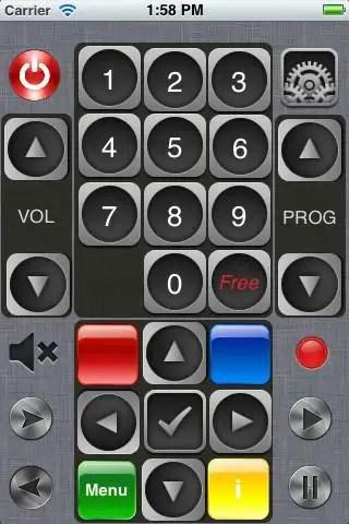 telecommande iphone