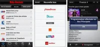 application Télé Loisirs iPhone