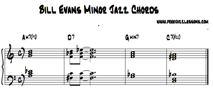4 Bill Evans Jazz Chords You Need To Know