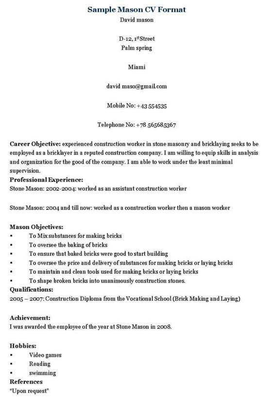 Please do my homework for me - Graduate Theological Foundation mason - format in making resume