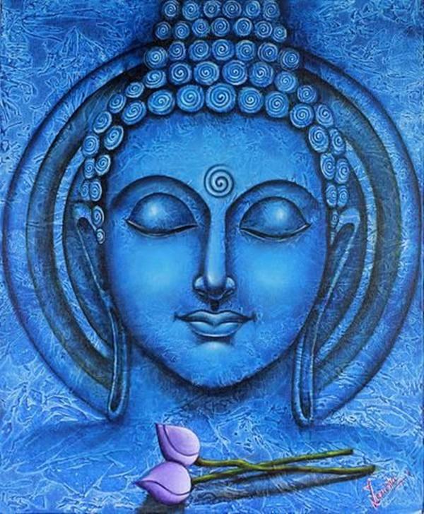 Hd Wallpaper Gautam Buddha 40 Easy Canvas Painting Ideas For Art Lovers
