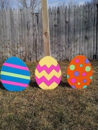40 Outdoor Easter Decorations Ideas To Make