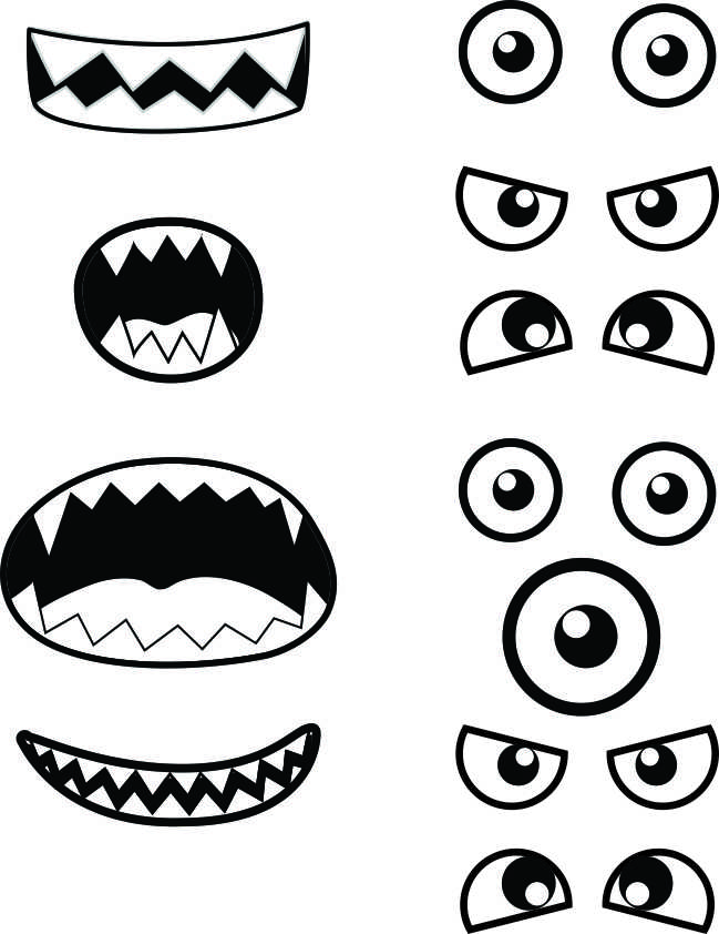 Monster Printables - Monster Template