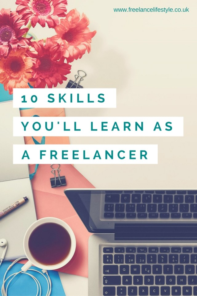 freelance skills you learn as a freelancer