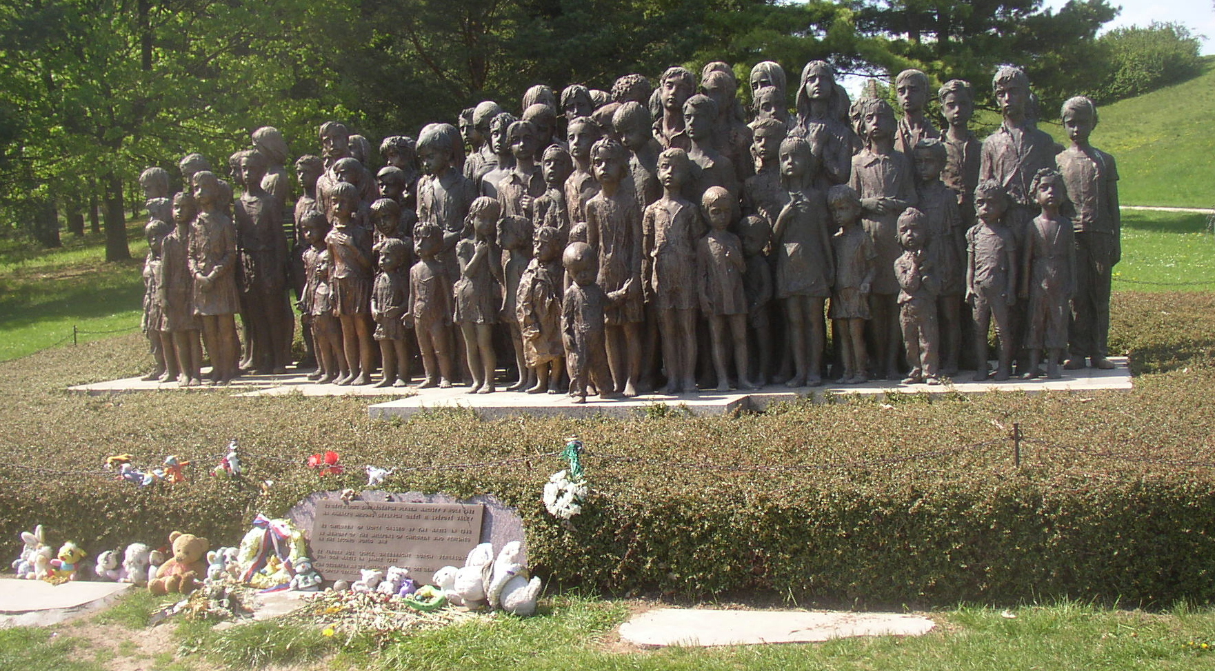 Lidice, Memorial to the children of Lidice, Miaouw Miaouw