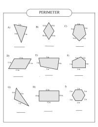 worksheet. Perimeter Of Polygons Worksheet. Carlos Lomas ...