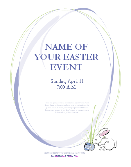 Free Printable Templates For Flyers. Free Generic Fax Cover Sheet