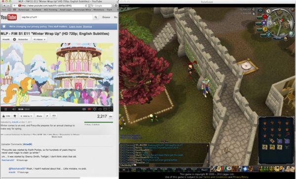 Runescape Multi Screen