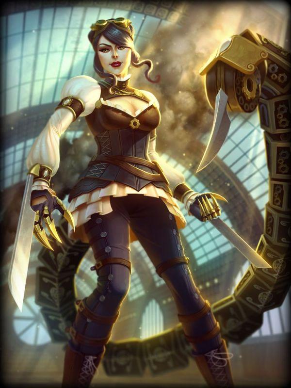 Madame Serqet Blade Card