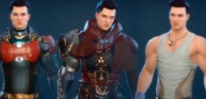 Skyforge - Market Update - Male Outfits Preview - Open Beta - F2P - RU 2