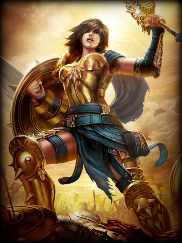 Golden Legendary Diamond Bellona
