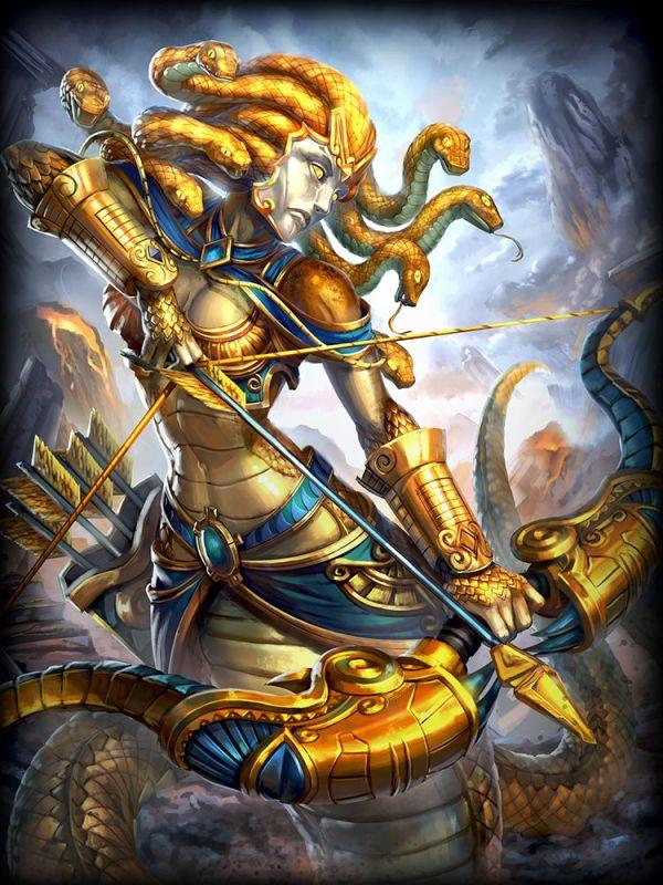 Medusa Golden Legendary Diamond