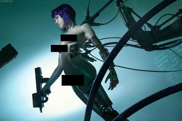 Ghost in the Shell Motoko (2)