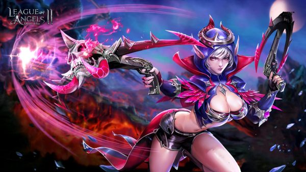 League of Angels 2 sexy wallpaper (6)