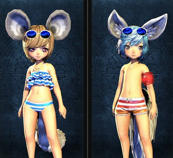 Blade & Soul Swimsuit Collection 8