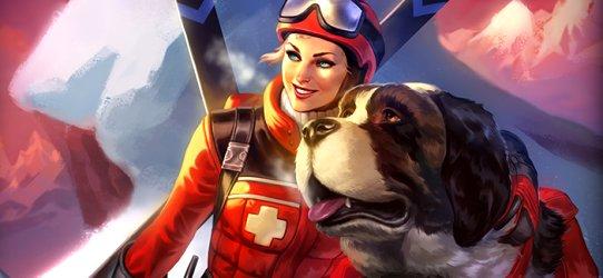 SMITE Skadi Ski Patrol
