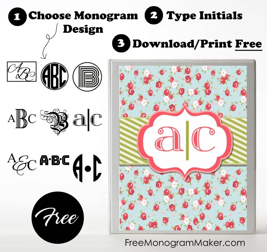 free monogram letters to download images of home design