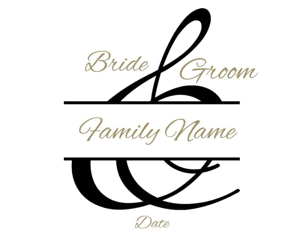 wedding monogram maker free