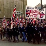 National Front march