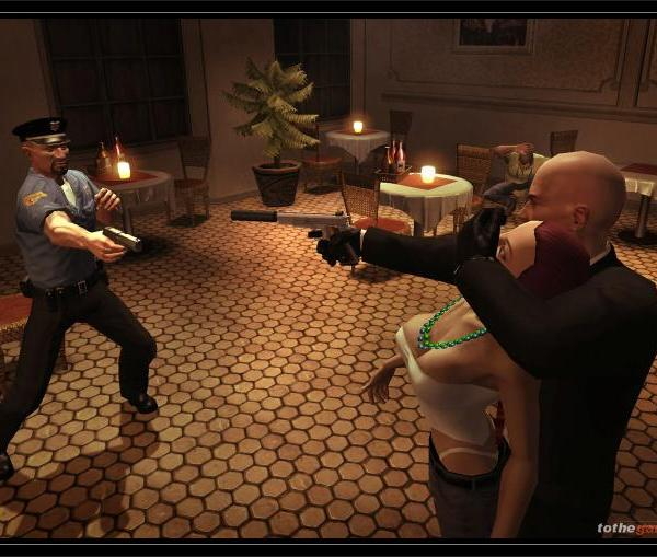 Hitman Blood Money Screen Shot