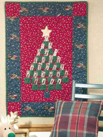 How To Make A Quilted Advent Calendar Christmas Traditions Advent Calendar << Moda Bake Shop Quilting Christmas Quilts Quilted Advent Calendar Pattern