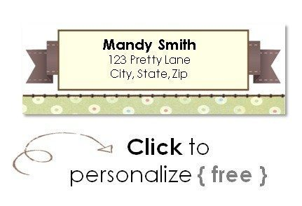 Free Return Address Labels - Address Label