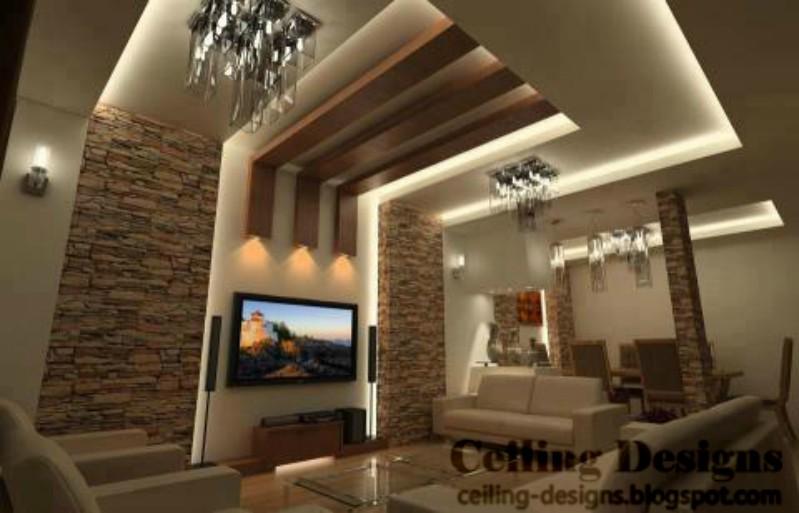 Living Room Ceiling Design Ideas,