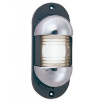Perko Stern Light Chrome Plated Zinc w/ Black Plastic