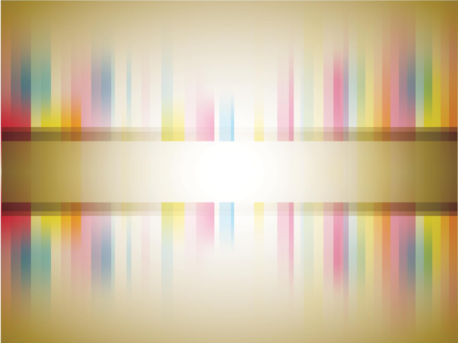 Cute Aqua Green Wallpaper Blured Color Stripes Powerpoint Templates Border