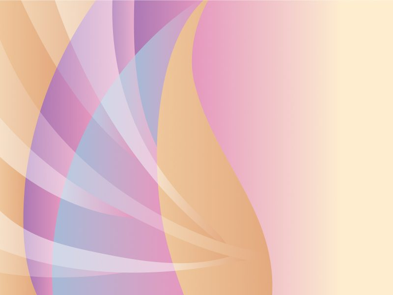 Pink Leaf Abstract Powerpoint Templates - Abstract, Fuchsia