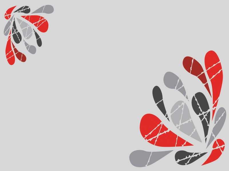 Abstract Splashes Powerpoint Templates - Abstract, Red, Silver