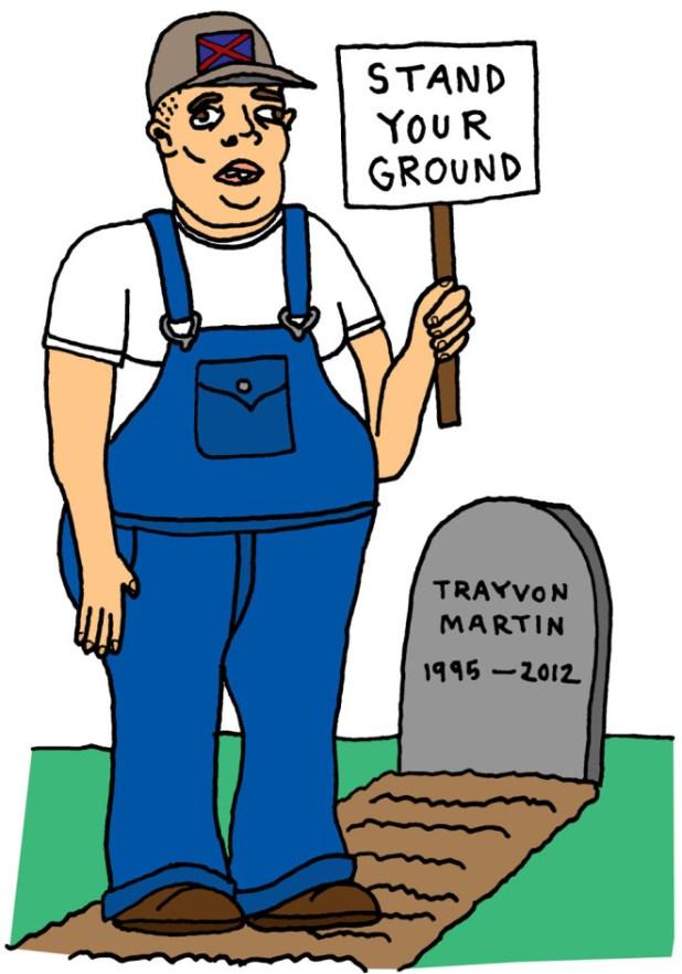 Stand yer ground