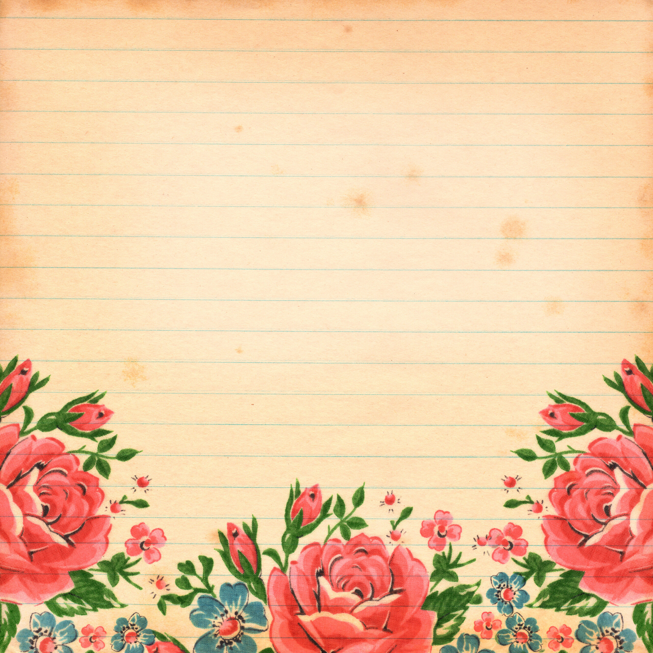 Fall Out Boy Flower Wallpaper Free Vintage Floral Digital Scrapbooking Paper By Fptfy 6