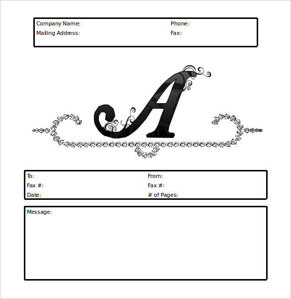 Personal Fax Cover Sheet free printable letterhead - fax cover sheet templates