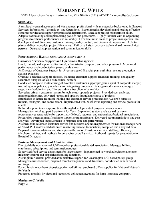 account manager resume objective