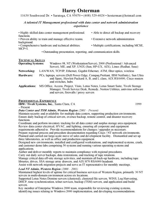 Restaurant Consultant Resume