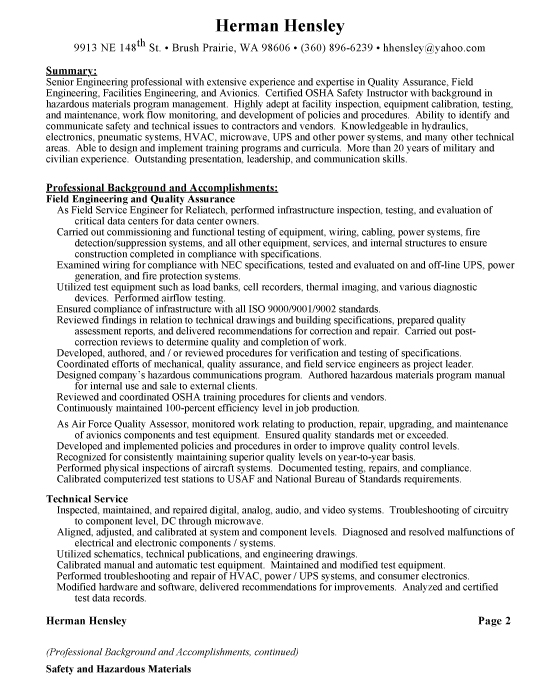 used car manager resume