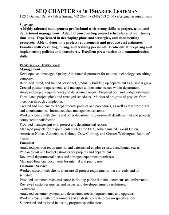 Custom Research Canadian Sport Tourism Alliance sample quality - qa tester resume sample