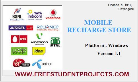 Mobile Recharge Store